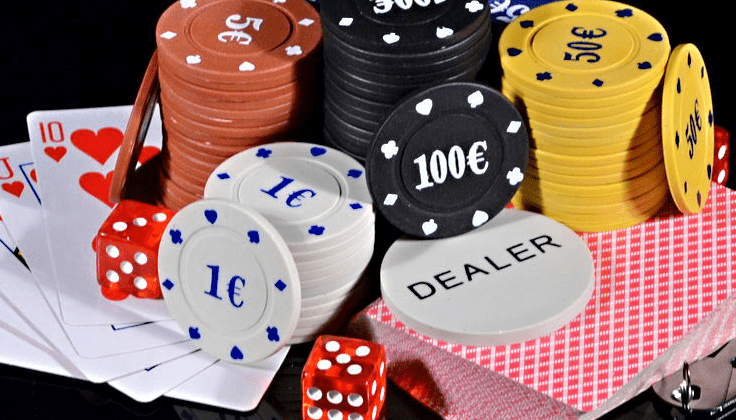 Poker chips types