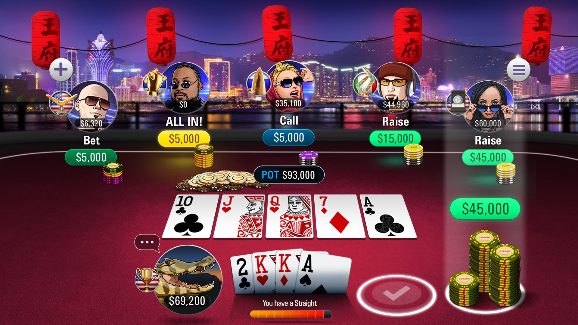 Poker All In Jackpot